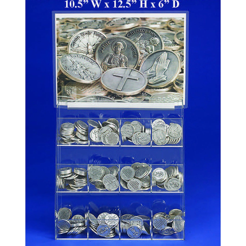 FREE 12 Style  Italian Token Display With the Purchase of Tokens
