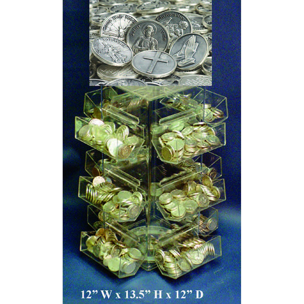 FREE 24 Style Token Tower Display With Purchase of Tokens