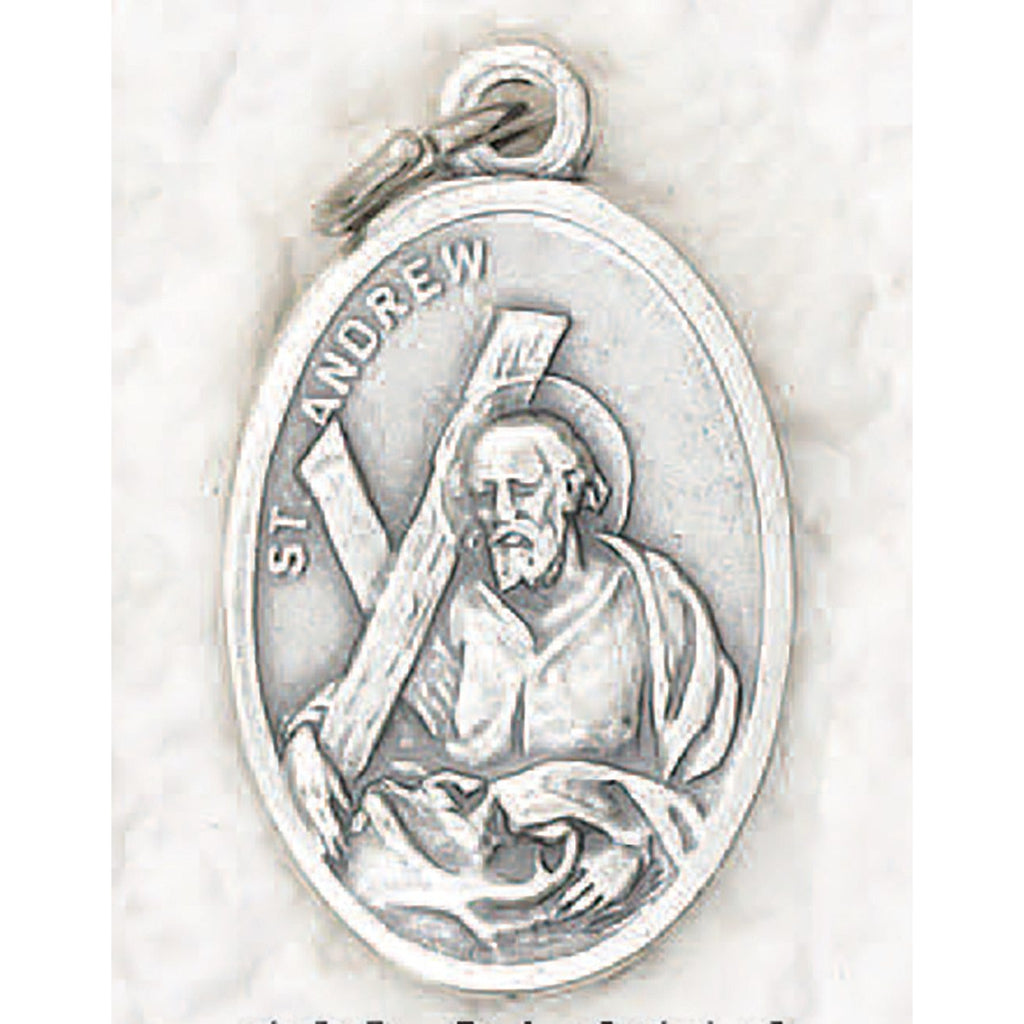 Saint Andrew Pray for Us Medal - 4 Options