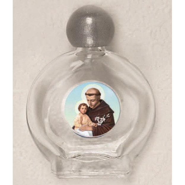 Saint Anthony Holy Water Bottle - Pack of 12