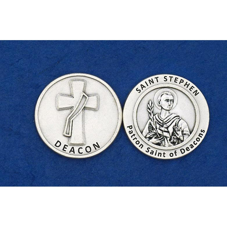 Italian Token - Deacon/Saint Stephen - Pack of 25