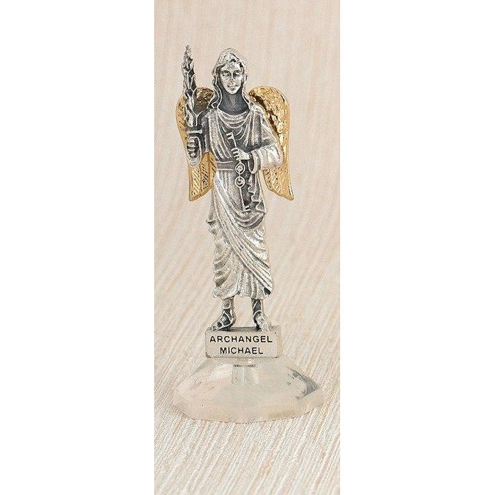 Archangel Michael Car Statue - Pack of 6