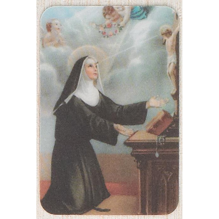 Saint Rita - Holographic 3D Cards - Pack of 25