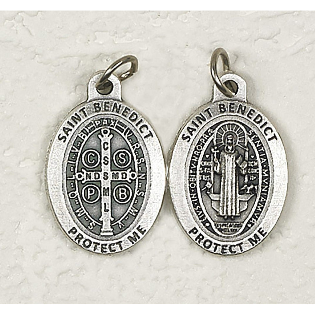 Premium Saint Benedict Double Sided Medal - 4 Options
