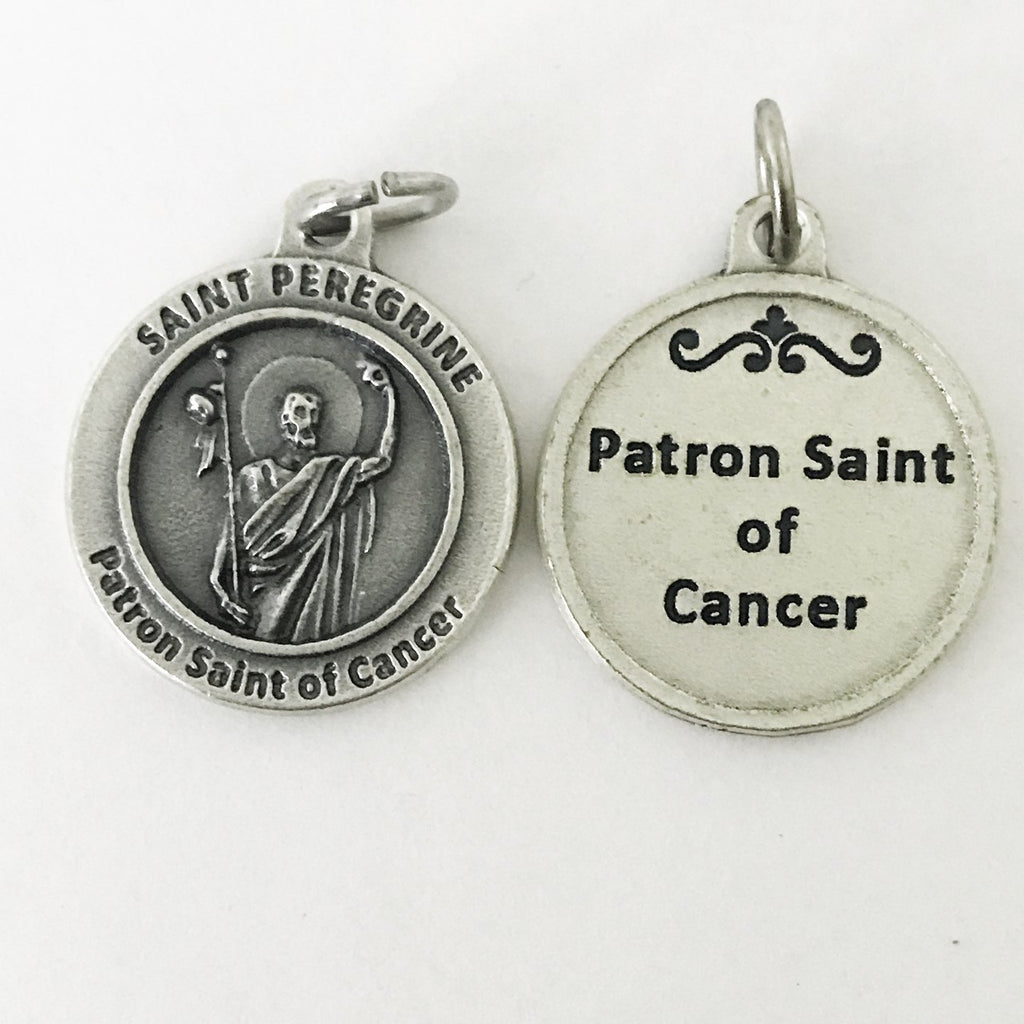 Healing Saint - St Peregrine Medal - 4 Options