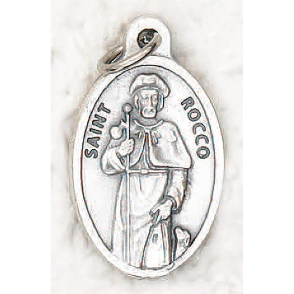 Saint Rocco Pray for Us Medal - 4 Options