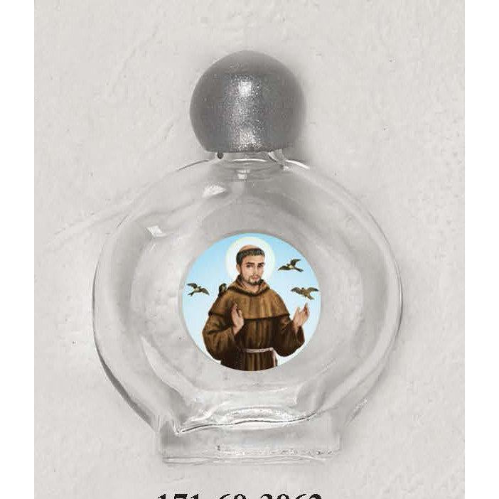 Saint Francis Holy Water Bottle - Pack of 12