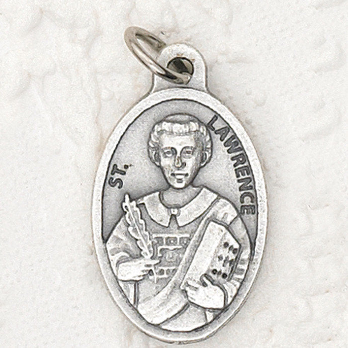 St. Lawrence Pray for Us Medal  - 4 Options