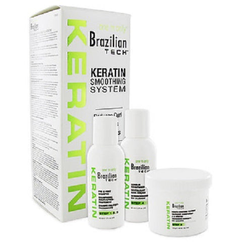 One n' Only Brazilian Tech Keratin Smoothing System Kit