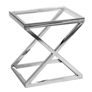 Side Table Criss Cross