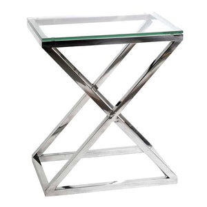 Side Table Criss Cross High