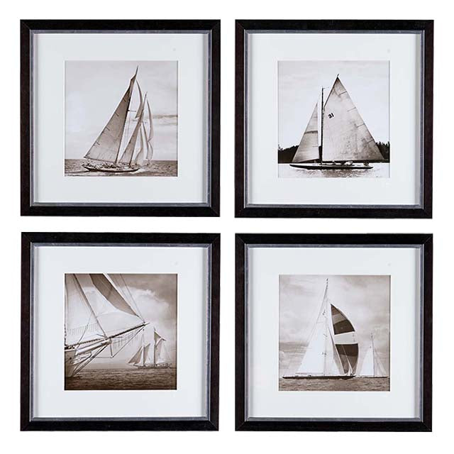 Prints Michael Kahn Boat set of 4