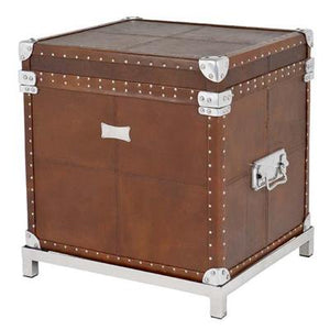 Flightcase brown Leather