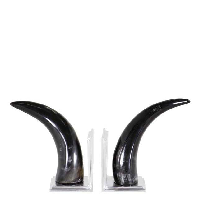 Bookend Horn set of 2