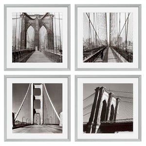 Prints New York Bridges set of 4