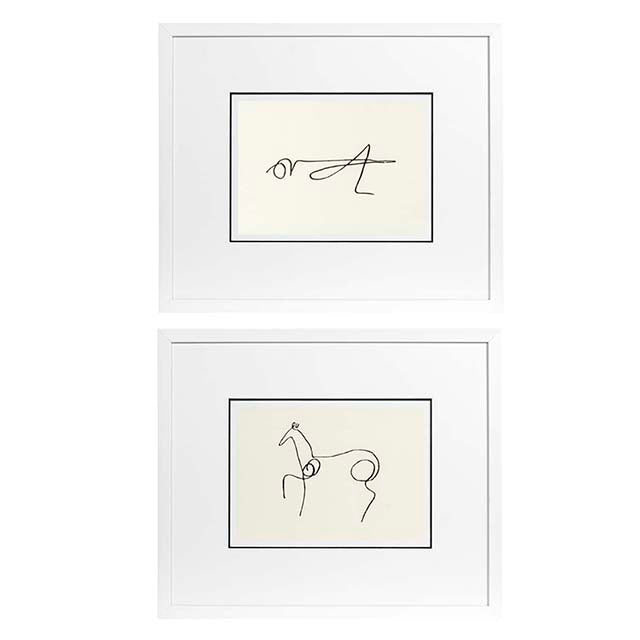 Prints Pablo Picasso set of 2