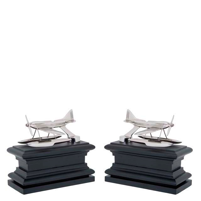 Bookend Hydroplane set of 2