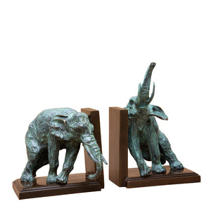 Bookend Lazy Elephant set of 2