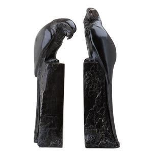 Bookend Perroquet set of 2