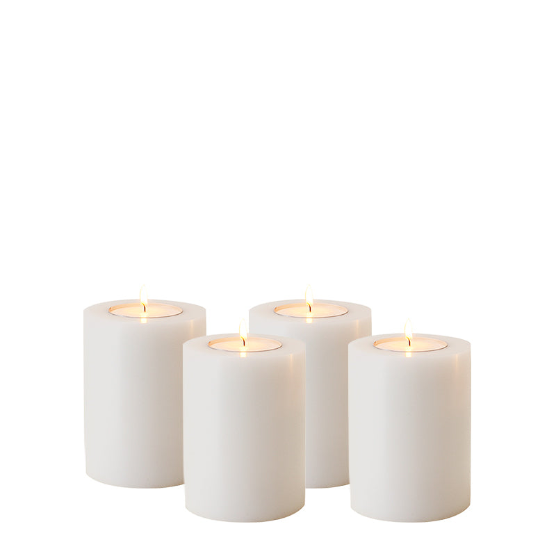 Artificial Candle set of 4