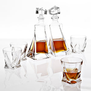 Decanter Sapphire set of 6