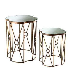 Side Table Sun set of 2