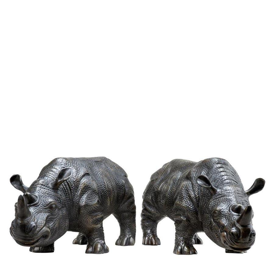 Rhinoceros set of 2