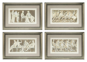 Prints Antiquities of Athens set of 4