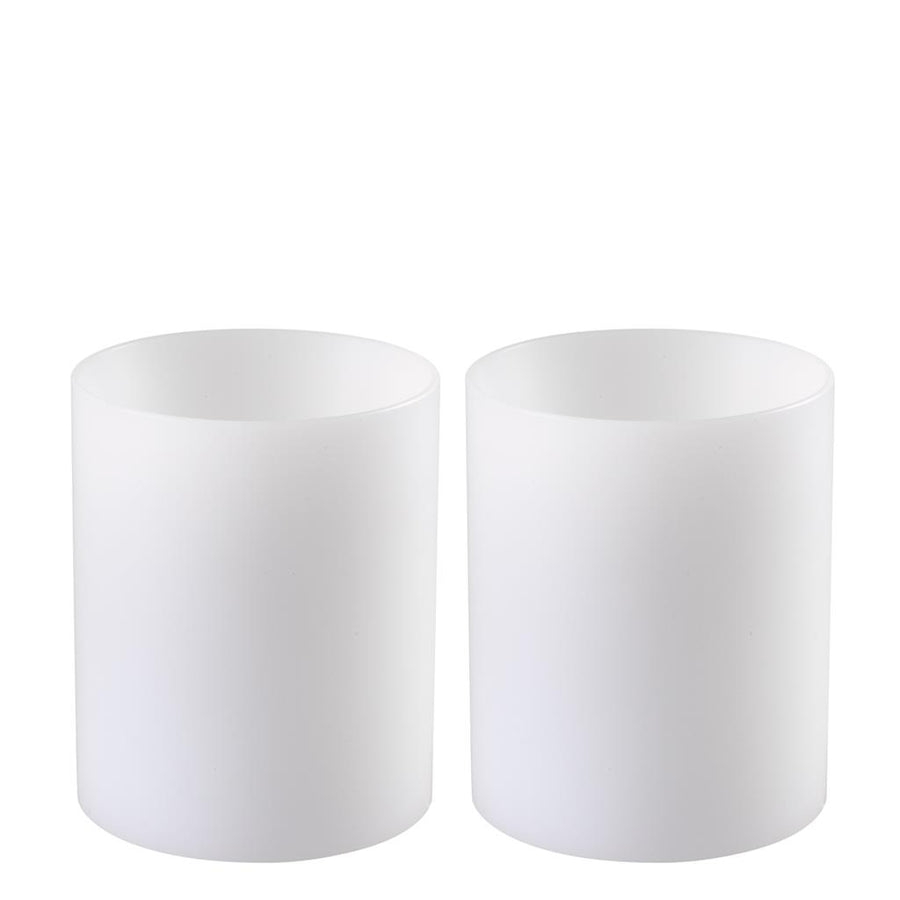 Artificial Candle deep set of 2