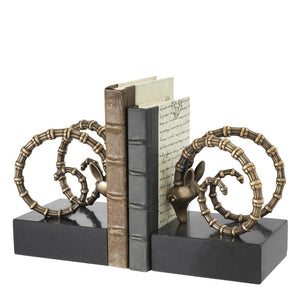 Bookend Ibex set of 2