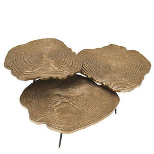 Coffee Table Quercus set of 3