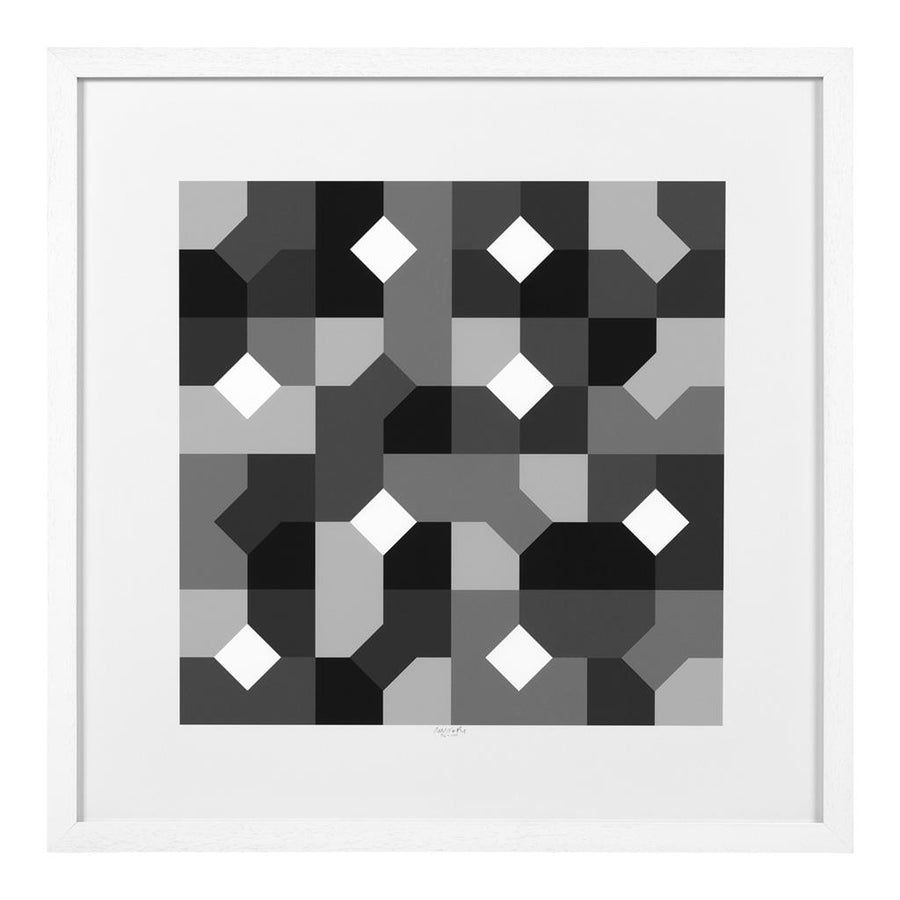 Prints Abstract B&W set of 2