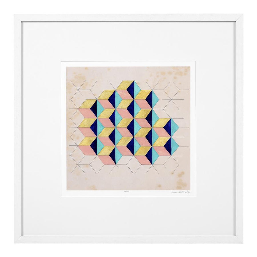 Prints Geometric Pattern Play set of 2