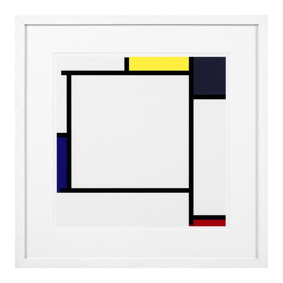 Prints Piet Mondrian set of 2