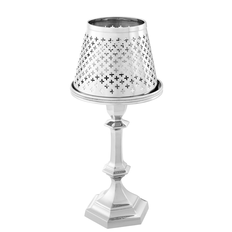 TEALIGHT HOLDER WITH SHADE MAILLON