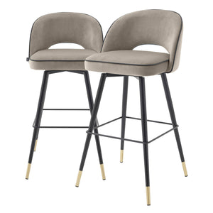 BAR STOOL CLIFF SET OF 2