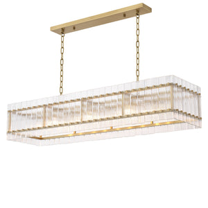 CHANDELIER RUBY RECTANGULAR
