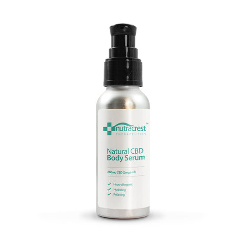 200mg Natural CBD Body Serum (100ml) - nutracrest