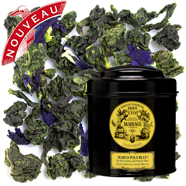 Marco Polo Blue 100 gr - oolong blauwe thee