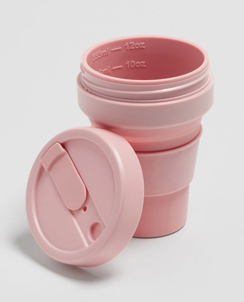 Stojo Collabsible Cup 355 ml pink