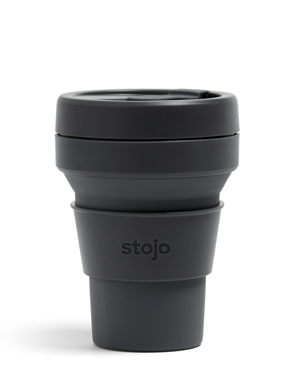Stojo Collabsible Cup 355 ml dark grey