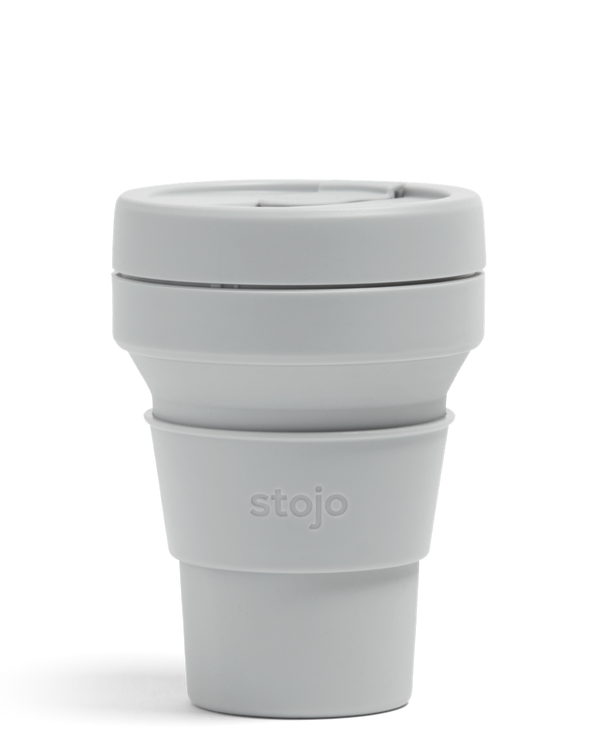 Stojo Collabsible Cup 355 ml grey