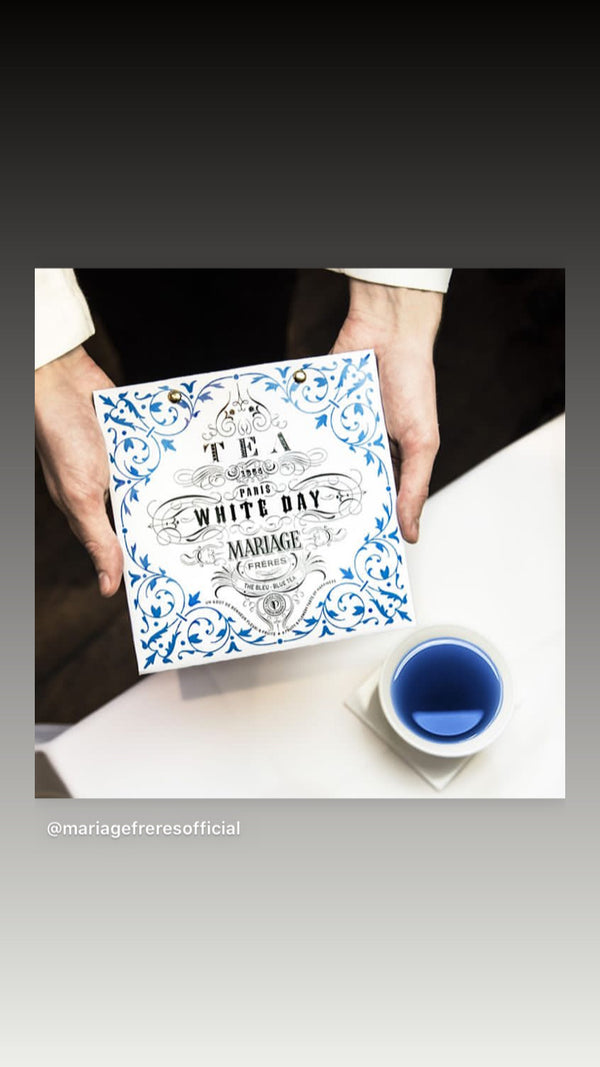 Paris White Day Thé Blue 50 gr