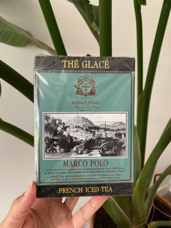 French Icedtea Marco Polo in cotton muslin