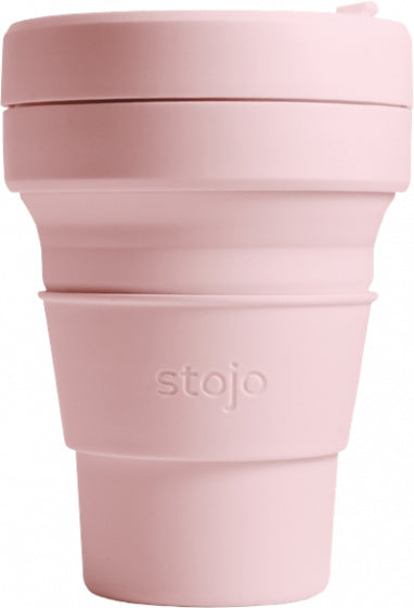 Stojo Biggie Brooklyn Cup Reisbeker 470 ml roze carnation