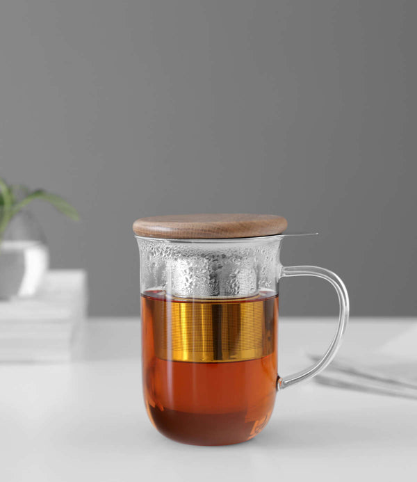 Minima Balanced Tea Mug Glass 0,5 l