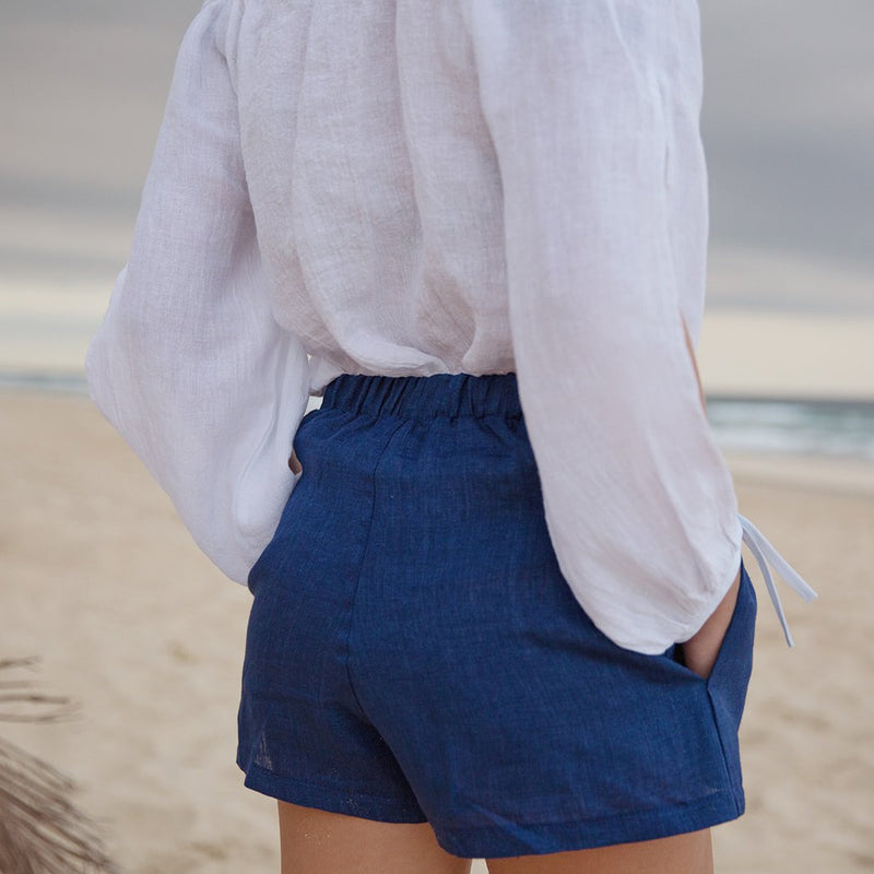 Maddy Sapphire Shorts