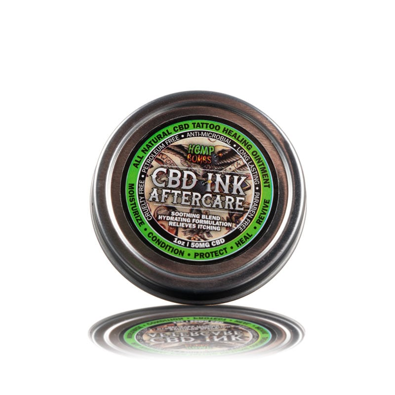 Hemp Bombs - Tattoo Cream - 50mg 1oz - CBD - Urban Vape & CBD