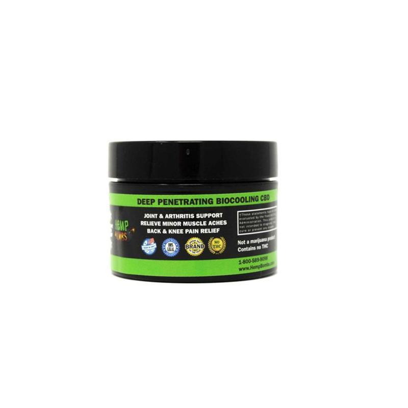 Urban Vape & CBD - Hemp Bombs - CBD Pain Rub (12 Jars per Sleeve)