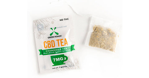 Green Roads - CBD Tea - 7MG Bag
